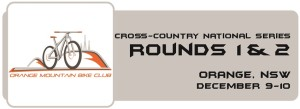 Cross-Country NS - Round 1 & 2 Button - Orange