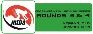 Cross-Country NS - Round 3 & 4 Button - Nerang
