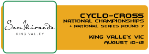 Cyclo-Cross National Series - National Champs + Round 7 Button