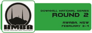 Downhill NS - Round 1 Button - Awaba