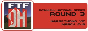 Downhill NS - Round 1 Button - Narbethong
