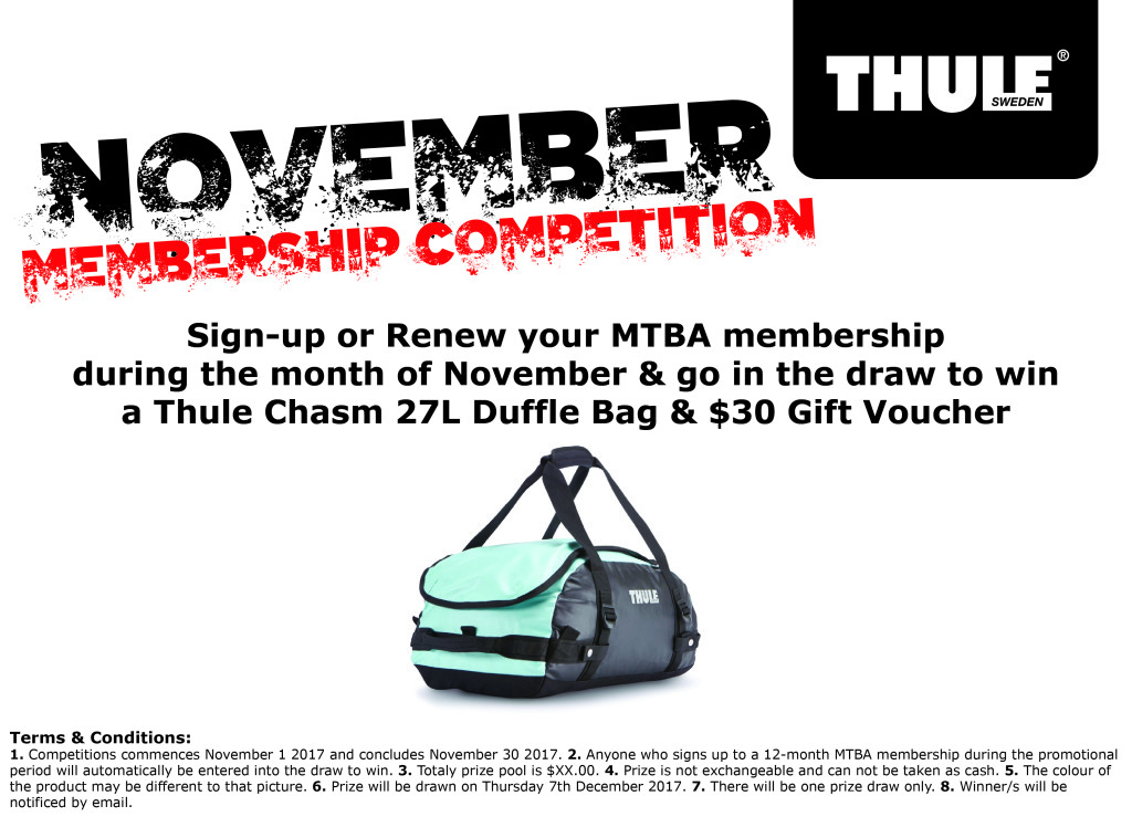 November Membership Competition